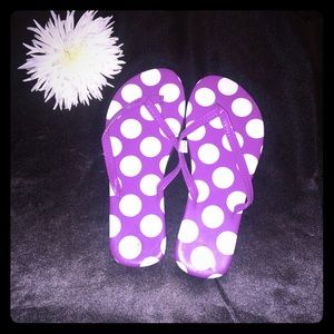 Other - 💜PoLka Dot Flip Flops 💜